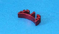 Gunsmith Bros Aluminum Puzzle Trigger - Long Curve (Red)