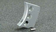 AIP Aluminum Trigger (Type E) for Marui Hi-Capa (Silver/Long)